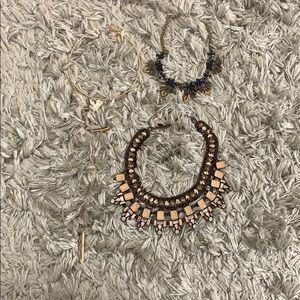 Set of 3, fashion necklaces